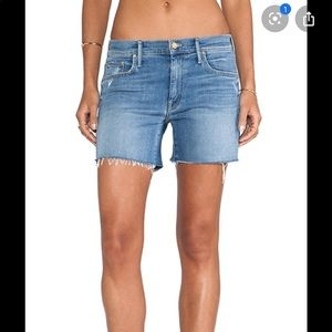 MOTHER The Drop Out Shorts
